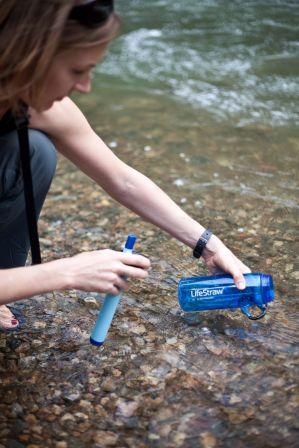 Фильтр для воды Vestergaard LifeStraw Go арт. ls1