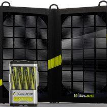 Зарядка на солнечных батареях Goal Zero Guide 10 Plus Solar Kit