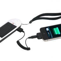 Фонарь Xtorm с сигналом тревоги и зарядным устройством с солнечной батареей