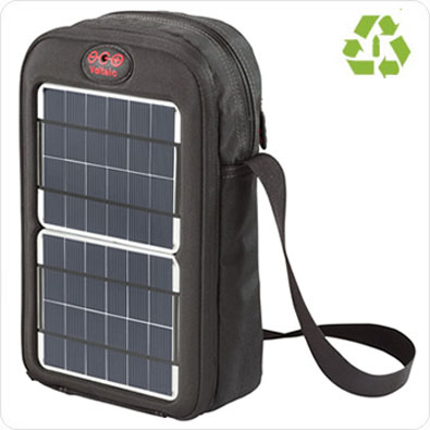 Сумка с солнечным зарядным устройством и аккумулятором Voltaic Switch