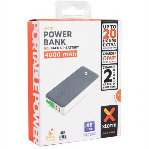 Внешний аккумулятор Xtorm Power Bank Go 4000